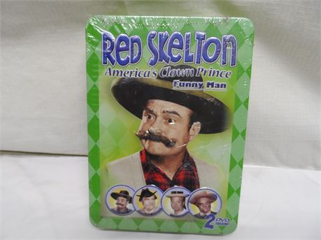 Red Skelton America's Clown Prince Funny Man Brand New
