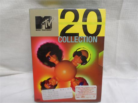 MTV 20 Collection DVD 4-Disc Set Brand New