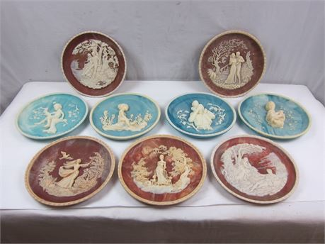 Vintage Collector's Plates Bundle of 9 (650)