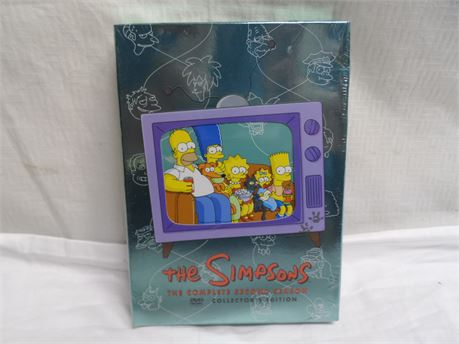 The Simpsons Complete Second Season Collectors Edition DVD Set Brand New