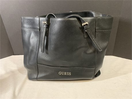 Guess Black Leather Purse