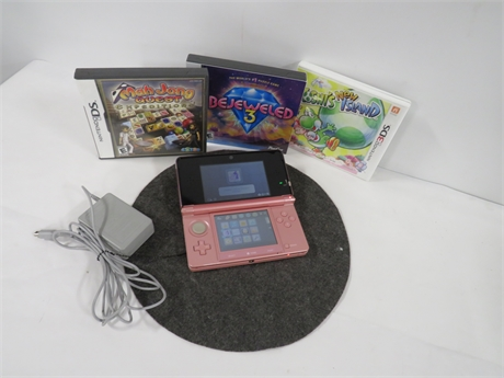 Nintendo 3DS System With Games (230-LVK-KK15)